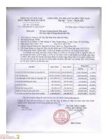 Báo cáo tài chính quý 3 năm 2014 - Công ty Cổ phần Xây lắp Phát triển Nhà Đà Nẵng