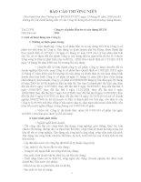 Báo cáo thường niên năm 2011 - Công ty cổ phần Đầu tư và Xây dựng HUD3