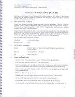 Báo cáo tài chính công ty mẹ quý 2 năm 2013 (đã soát xét) - Công ty Cổ phần Thương mại Hóc Môn