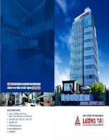 Báo cáo thường niên năm 2012 - Công ty Cổ phần Đầu tư Xây dựng Lương Tài