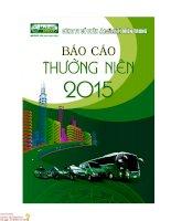Báo cáo thường niên năm 2015 - Công ty Cổ phần Tập đoàn Mai Linh Miền Trung