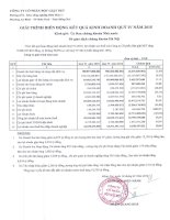 Báo cáo tài chính quý 4 năm 2015 - Công ty Cổ phần Bột giặt Net