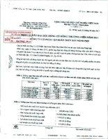 Nghị quyết Đại hội cổ đông thường niên năm 2011 - Công ty Cổ phần Tập đoàn Thủy sản Minh Phú