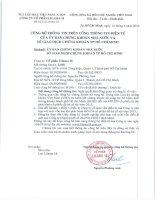 Nghị quyết Hội đồng Quản trị - Công ty Cổ phần Lilama 18