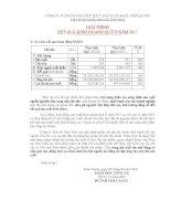 Báo cáo tài chính quý 2 năm 2011 - Công ty Cổ phần Chế biến Thủy sản Xuất khẩu Ngô Quyền