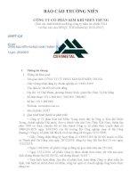 Báo cáo thường niên năm 2014 - Công ty cổ phần Kim khí miền Trung