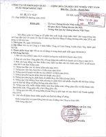 Nghị quyết Hội đồng Quản trị - Công ty Cổ phần Sản xuất Xuất nhập khẩu NHP