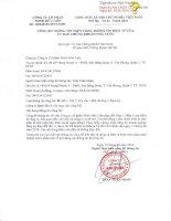 Bản điều lệ - Công ty Cổ phần Minh Hữu Liên