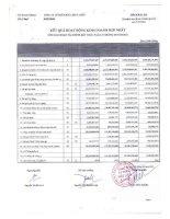Báo cáo KQKD hợp nhất quý 2 năm 2012 - Công ty Cổ phần Hữu Liên Á Châu