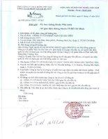 Nghị quyết Hội đồng Quản trị - Công ty Cổ phần Vận tải Hà Tiên
