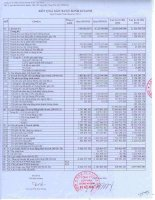 Báo cáo tài chính quý 3 năm 2012 - Công ty Cổ phần Chứng khoán KIS Việt Nam