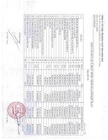 Báo cáo KQKD hợp nhất quý 1 năm 2012 - Công ty Cổ phần Tập đoàn Thủy sản Minh Phú