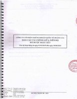 Báo cáo tài chính quý 2 năm 2015 (đã soát xét) - Công ty Cổ phần Chứng khoán Quốc tế Hoàng Gia
