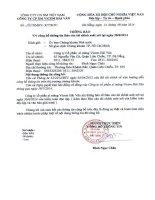 Báo cáo tài chính quý 2 năm 2014 (đã soát xét) - Công ty Cổ phần Xi măng Vicem Hải Vân