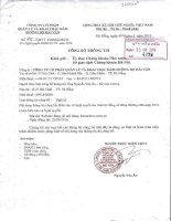 Nghị quyết Đại hội cổ đông thường niên - CTCP Quản lý và Khai thác Hầm Đường Bộ Hải Vân