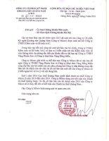 Báo cáo tài chính công ty mẹ năm 2015 (đã kiểm toán) - Công ty Cổ phần Kỹ nghệ Khoáng sản Quảng Nam