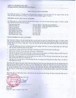 Báo cáo tài chính năm 2015 (đã kiểm toán) - Công ty Cổ phần Hòa Việt