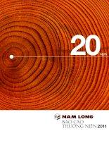 Báo cáo thường niên năm 2011 - Công ty cổ phần Đầu tư Nam Long