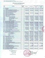 Báo cáo tài chính quý 1 năm 2013 - Công ty Cổ phần Chứng khoán KIS Việt Nam