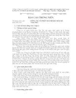 Báo cáo thường niên năm 2007 - Công ty Cổ phần Bánh kẹo Hải Hà