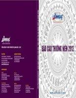 Báo cáo thường niên năm 2012 - Tổng Công ty Phát triển Đô thị Kinh Bắc-CTCP