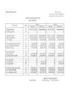 Báo cáo tài chính quý 1 năm 2011 - Công ty Cổ phần Licogi 166