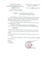 Báo cáo tài chính quý 3 năm 2014 - Công ty cổ phần Than Mông Dương - Vinacomin
