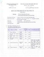 Báo cáo tình hình quản trị công ty - Công ty Cổ phần Đầu tư Kinh doanh nhà Khang Điền