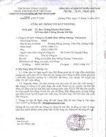 Nghị quyết Hội đồng Quản trị - Công ty cổ phần Than Mông Dương - Vinacomin