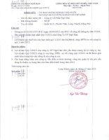 Báo cáo tài chính hợp nhất quý 3 năm 2013 - Công ty Cổ phần Ngô Han