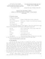 Báo cáo thường niên năm 2012 - Công ty cổ phần Than Núi Béo – Vinacomin