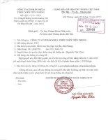 Nghị quyết Hội đồng Quản trị - Công ty Cổ phần Nhựa Thiếu niên Tiền Phong
