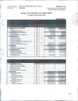 Báo cáo tài chính hợp nhất quý 3 năm 2012 - Công ty Cổ phần Hữu Liên Á Châu