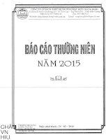 Báo cáo thường niên năm 2015 - Công ty Cổ phần Sách - Thiết bị Trường học Kiên Giang
