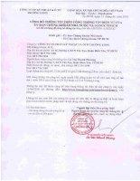 Nghị quyết Hội đồng Quản trị - Công ty Cổ phần Kỹ thuật và Ô tô Trường Long