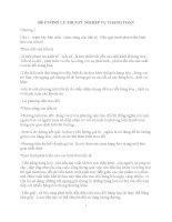 ĐỀ CƯƠNG lý THUYET NGHIỆP vụ THANH TOÁN