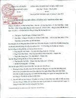 Nghị quyết Đại hội cổ đông bất thường ngày 18-09-2011 - Công ty cổ phần In và Bao bì Mỹ Châu