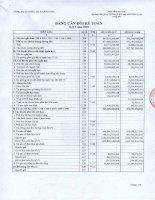 Báo cáo tài chính công ty mẹ quý 3 năm 2010 - Công ty Cổ phần Điện lực Khánh Hòa