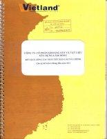 Báo cáo tài chính công ty mẹ quý 2 năm 2011 (đã soát xét) - Công ty Cổ phần Khoáng sản và Vật liệu xây dựng Lâm Đồng