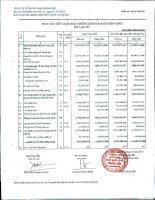 Báo cáo tài chính hợp nhất quý 1 năm 2011 - Công ty Cổ phần Đầu tư và Dịch vụ Khánh Hội