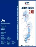 Báo cáo thường niên năm 2011 - Tổng Công ty Phát triển Đô thị Kinh Bắc-CTCP
