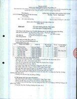Báo cáo tình hình quản trị công ty - Công ty Cổ phần Khoáng sản và Vật liệu xây dựng Lâm Đồng