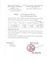 Báo cáo tài chính hợp nhất quý 1 năm 2016 - Công ty Cổ phần Someco Sông Đà