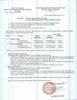 Báo cáo tài chính hợp nhất quý 2 năm 2014 - Công ty Cổ phần Khoáng sản và Vật liệu xây dựng Lâm Đồng