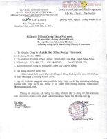 Nghị quyết Đại hội cổ đông thường niên - Công ty cổ phần Than Mông Dương - Vinacomin