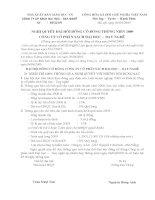 Nghị quyết đại hội cổ đông ngày 04-04-2009 - Công ty Cổ phần Sách Đại học - Dạy nghề