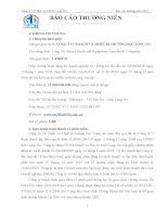 Báo cáo thường niên năm 2012 - Công ty Cổ phần Sách và Thiết bị trường học Long An