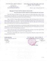 Báo cáo thường niên năm 2013 - Công ty cổ phần Du lịch - Dịch vụ Hội An