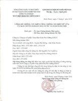 Nghị quyết Đại hội cổ đông thường niên - Công ty cổ phần Thủy điện Srok Phu Miêng IDICO