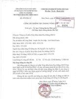 Nghị quyết Hội đồng Quản trị - Công ty cổ phần Thủy điện Srok Phu Miêng IDICO